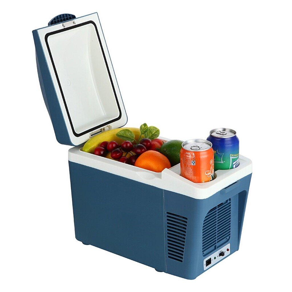 PeaceipUS Mini Fridge - 7L Blue Compact Refrigerator Holds 8 x 330ml Cans |