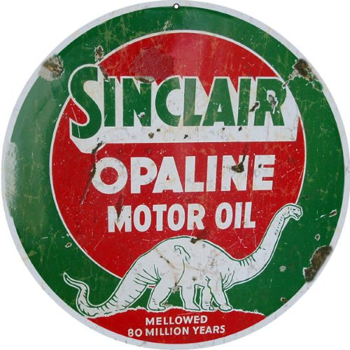 Sinclair Opaline Motor Oil Gas Station Auto Sign (Gas Station Sign)