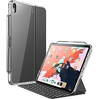 Funda para iPad Pro 12.9 '' 2018,Teclado par i-Blason [Compatible con la funda inteligente oficial y el teclado inteligente] Funda Clear Protecive con soporte para lápiz para iPad Pro 12.9 Inch 2018 Release (3rd Generation) (Transparente)