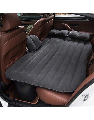 Vinteky® *Multifuncional Hinchable Impermeable Portable Adjustable* 2 en 1 Colchón para Coche y