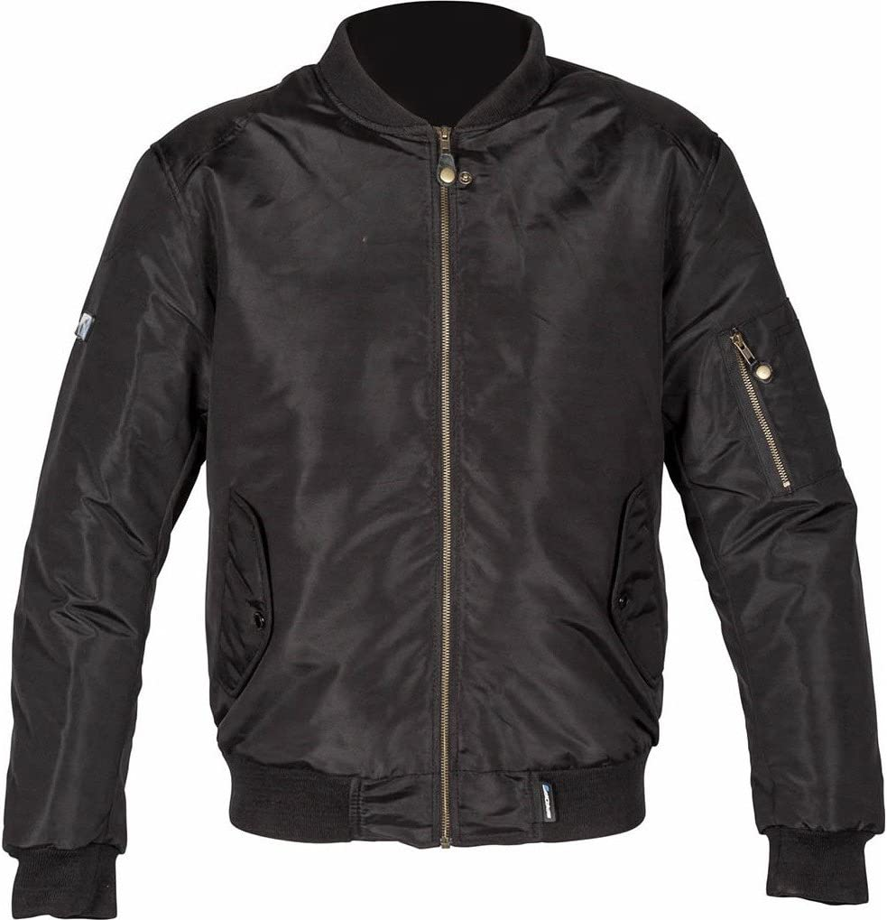Spada Motorcycle Textile Jacket Air Force 1 Black
