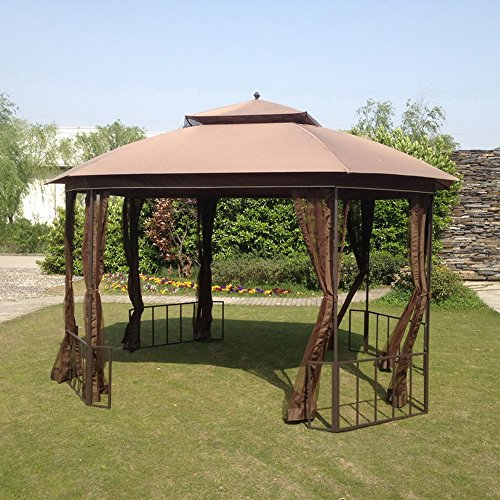 Sunjoy Replacement Mosquito Netting for Catalina Octagon Gazebo -  110109116