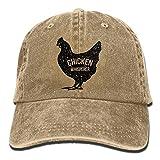 chicken bucket hat - Men Women Chicken Whisperer Denim Jeanet Baseball Hat Adjustable Dad Hat