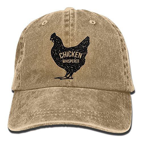 Men Women Chicken Whisperer Denim Jeanet Baseball Hat Adjustable Dad Hat