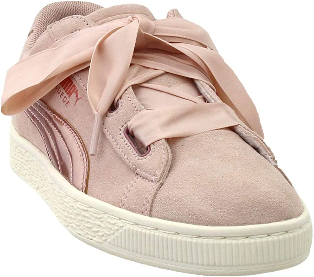 futuro bala Adversario  Amazon.com | PUMA Girls Suede Heart Rose Gold Junior Casual Sneakers, |  Sneakers