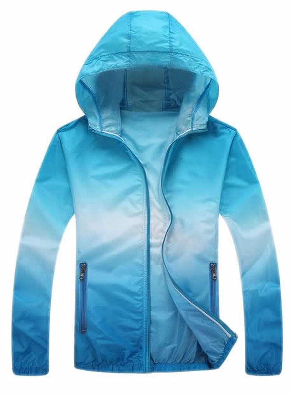 XTX Women's Sunscreen UV Sun Protection Hooded Thin Coats