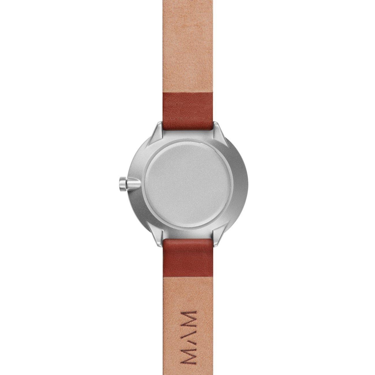 MAM Originals · Stainless Dark Maple Fauve | Reloj de Mujer | Diseño Minimalista | Creado con Madera de Arce sostenible Gris y Acero Inoxidable Reciclado: ...