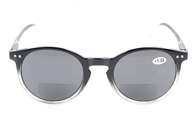 567e540ce3 Spring-Hinged Round Bifocal Sunglasses Key Hole Style Bifocal Readingglasss  Women