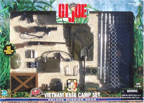 Joe Gear Gi Mission (GI Joe Vietnam Base Camp Set Deluxe Mission Gear)