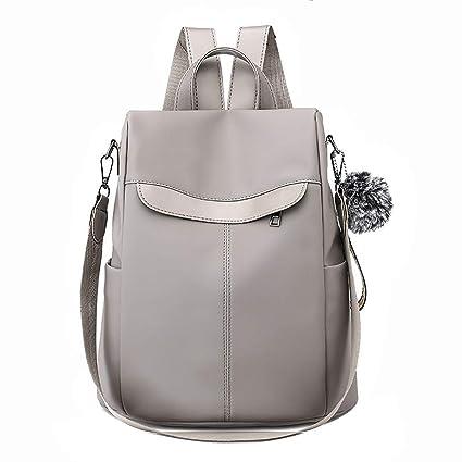 9fe73127617a Amazon.com: Meiliwanju Women Backpack Purse Waterproof Oxford Anti ...