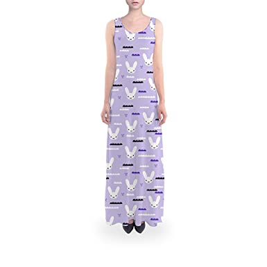 88d4a6609409 Sky Love Bunny Purple - XL Short - Flared Maxi Dress at Amazon ...