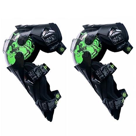Rodilla de motocross con codo ajustable, Rodilleras, traje ...