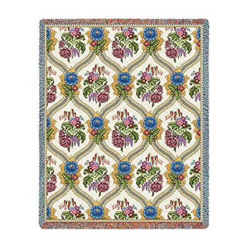 Pure Country Weavers Floral Tapestry (Pure Country Inc. Bouquet Blanket Tapestry Throw)