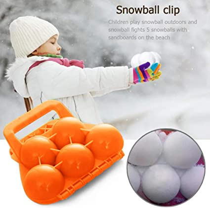 goodjinHH Profi Schneeballzange,Snowball Maker 5 Schneeball