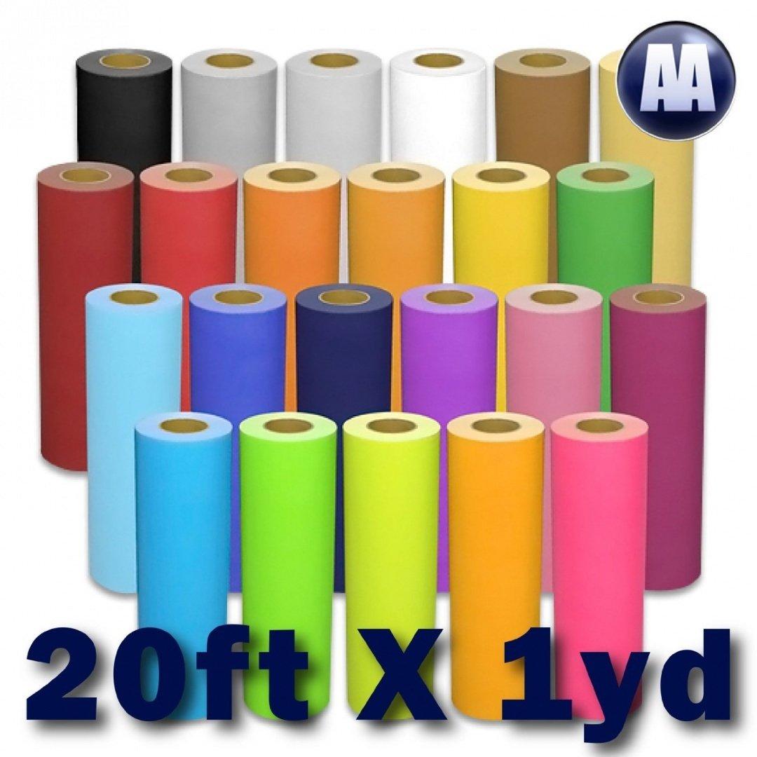 Glitter Heat Transfer Vinyl 20'' x Yard (Light Pink)