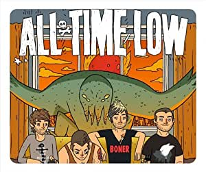 All Time Low oblong mouse pad by eggcase