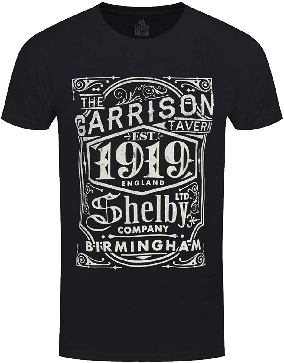 Peaky Blinders Garrison Pub (Negro) Camiseta