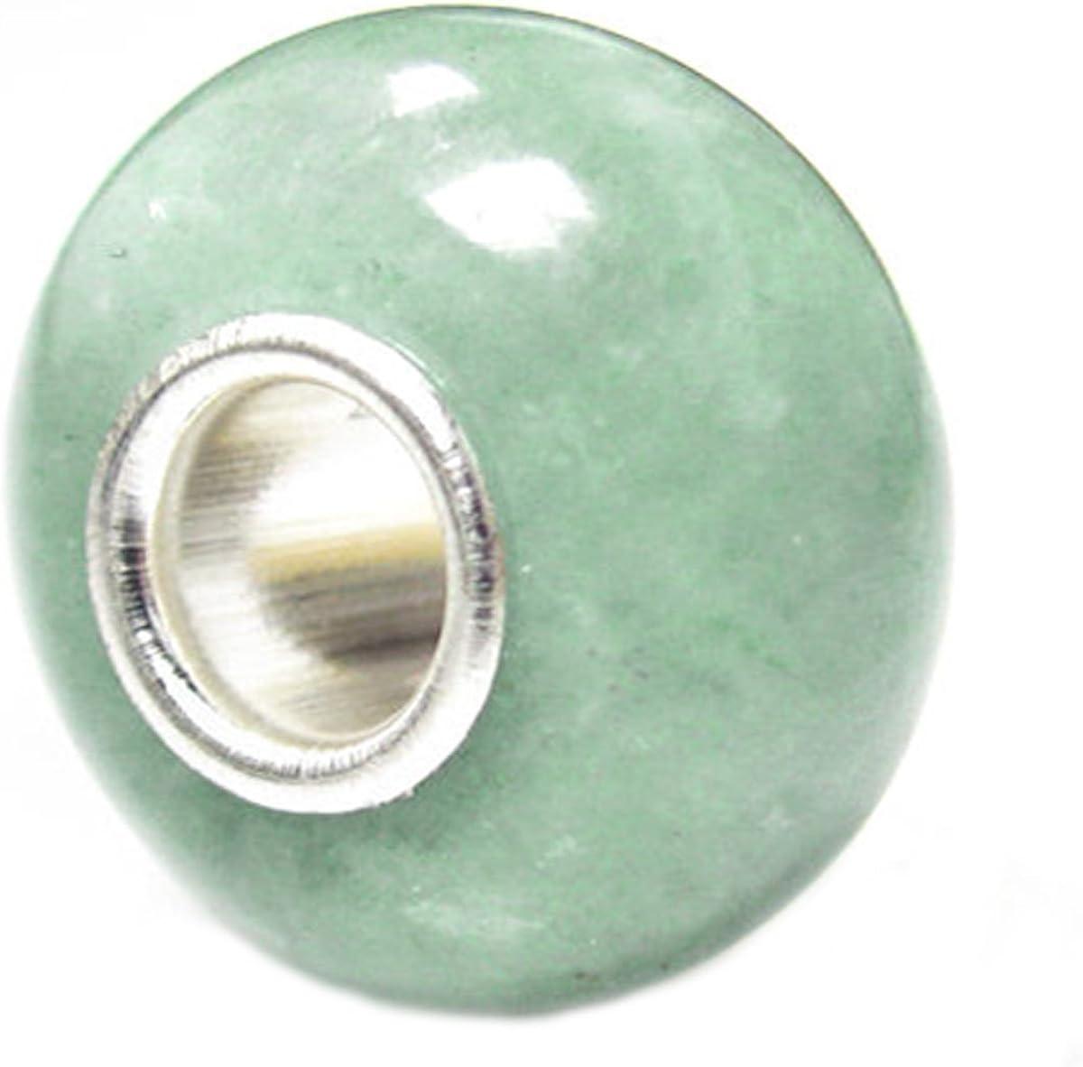 Queen Berry Clip de perla colgante plata de ley 925jade piedra Bead para pandora/Troll/Chamilia/Biagi/europeos Charm de pulseras