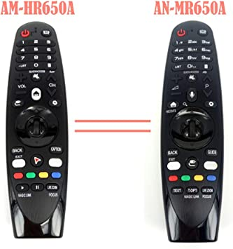 AM-HR650A AN-MR650A - Mando a distancia para televisor LG Magic 55UK6200 49uh603v Fernbedienung AN-MR650voz.: Amazon.es: Electrónica