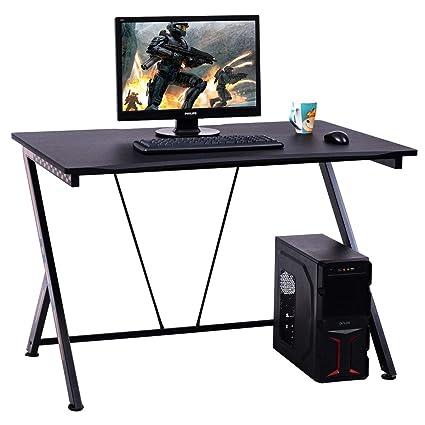 costway ordenador escritorio mesa de juego Racing Sport estudio ...