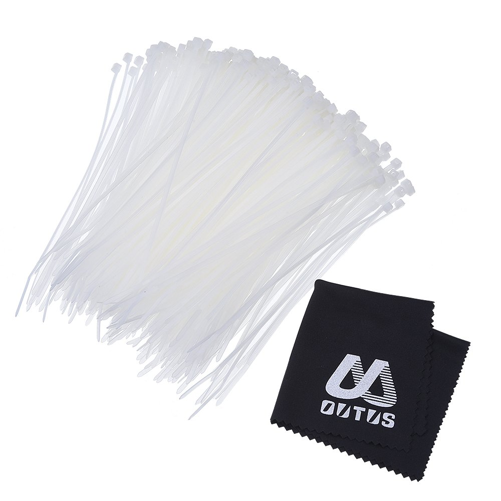 Outus Nylon Cable Zip Ties Self-locking 4 Inch, 1000 Pack 4330221924
