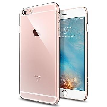 Spigen Thin Fit - Funda para Apple iPhone 6S Plus, transparente