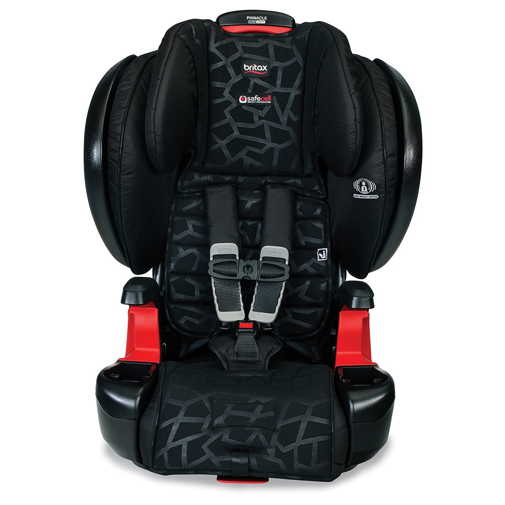 Britax Pinnacle ClickTight G1.1 Harness-2-Booster Car Seat – 3 Layer Impact Protection – 25 to 120 pounds, Mosaic