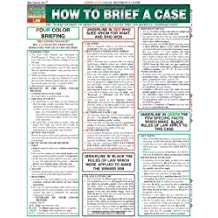 How To Brief A Case (Quick Study: Law)