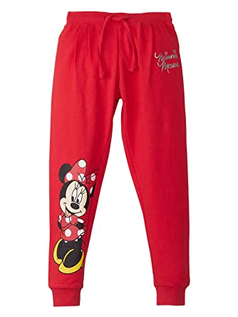 8d7916f60 Mickey & Friends By Kidsville Girls' Relaxed Regular Fit  Trousers(MF1GPB677BR_Bright ...