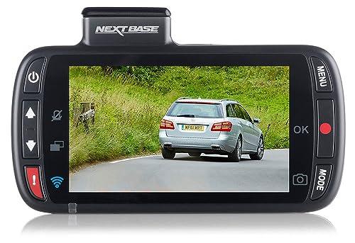 Nextbase 312GW Full 1080p HD In Car Dash Cam Camera DVR Digital Driving Video Recorder with Built-In Wi-Fi Black,87 x 58 x 19 mm (37mm inc lens)