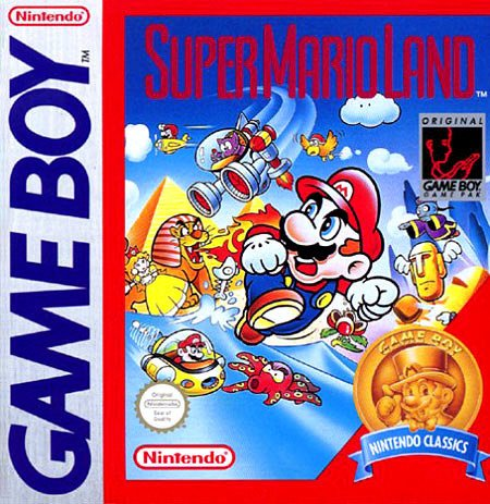 Super Mario Land (Mario Game Super Boy Color)