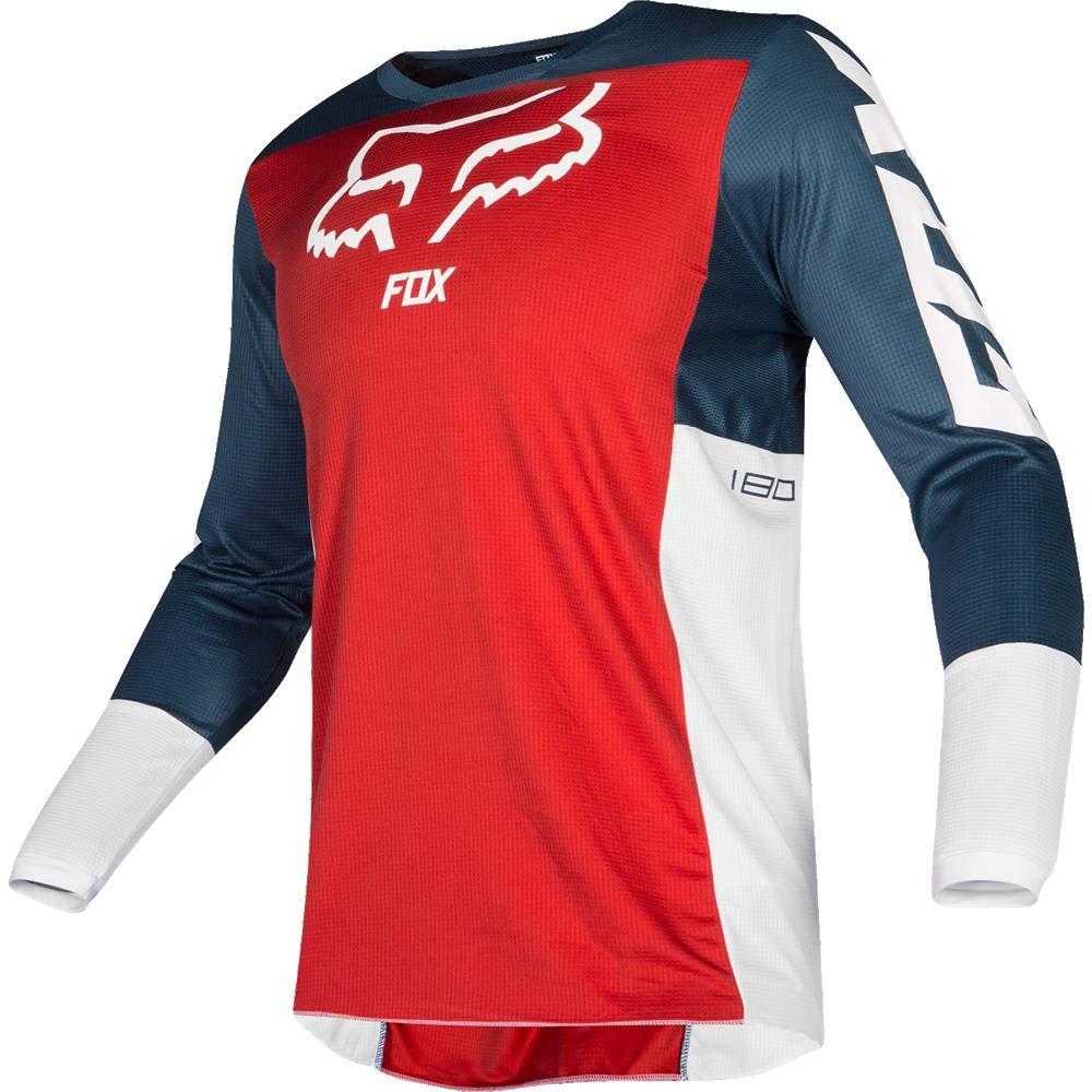 Fox Racing 2019 180 Przm Jersey-Navy//Red-XL