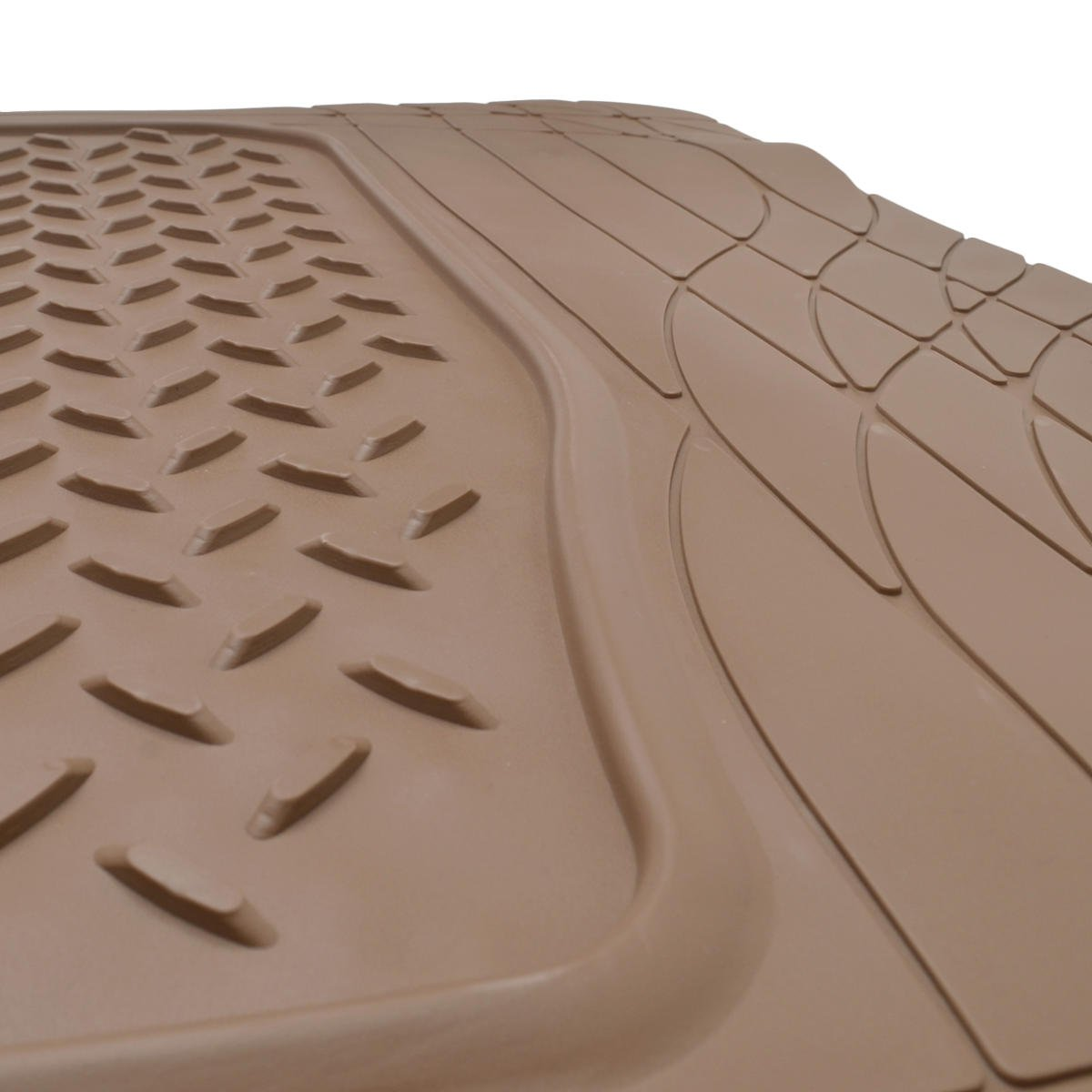 Gray PVC BDK Universal Fit Premium Cargo Car Trunk Mat//Liner 31.5 x 50