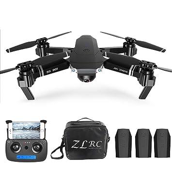 Goolsky Drone RC 4K SG901 Cuadricóptero con Cámara Posicionamiento ...