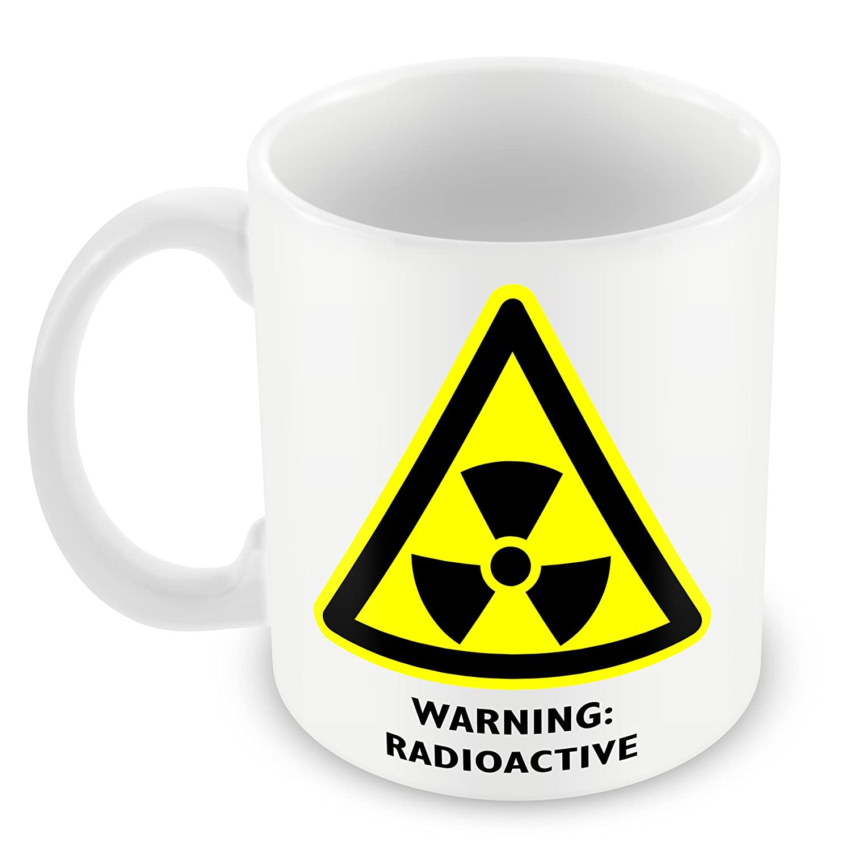 Símbolo de advertencia de peligro de laboratorio radiactivos CG de ...