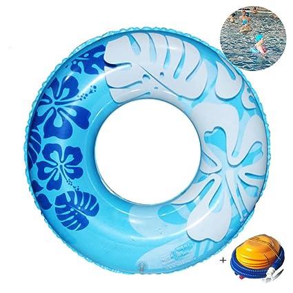 FAFY Juguetes Inflables del Agua del Flotador De La Piscina del Anillo De La Natación del