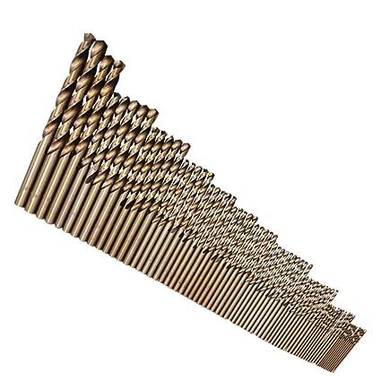 74 piezas Varilla hexagonal Juego de brocas helicoidales ...