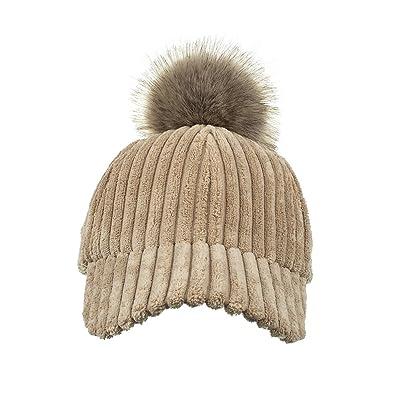 ALWLJ nouvelle casquette de baseball d'hiver bar cossu