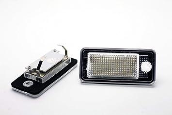 LEDPremium 2x LUCES DE MATRICULA LED REEMPLAZO A4 S4 RS4 / AVANT B6 B7 CANBUS: Amazon.es: Coche y moto