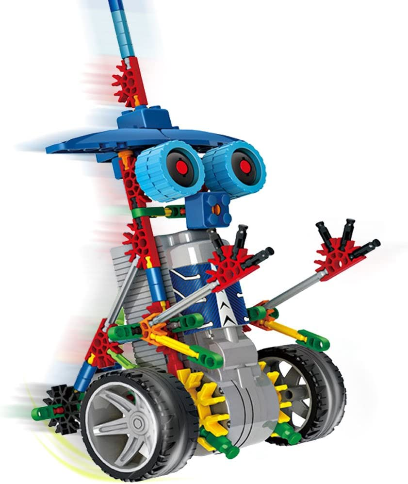 Juego de bloques para construir robots de juguete