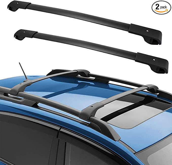 Aluminium Roof Rack for Integrated Bars Subaru Forester 2003 to 2007 100kg bar