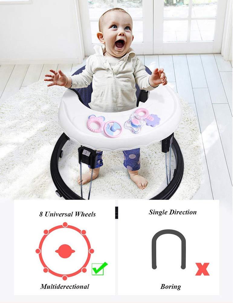Amazon.com: Andador para bebé de altura ajustable para niños ...