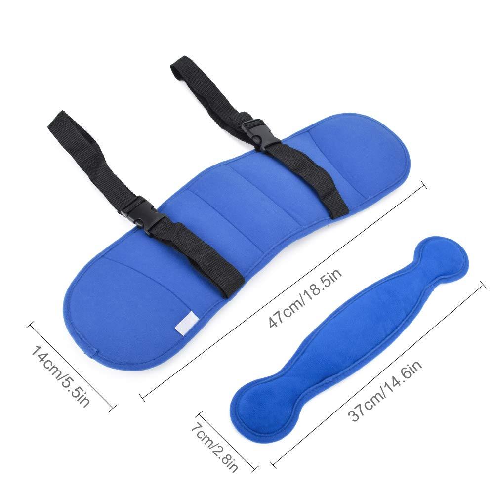 ITRAZ Kids Child Car Seat Head Support Neck Relief Safety Adjustable Head Holder Sleep Pillow