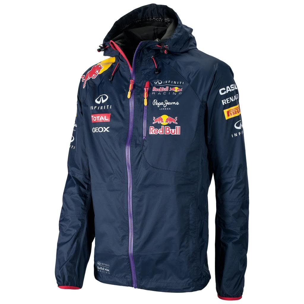 Red Bull F1 Racing Team lluvia chaqueta oficial nuevo ...
