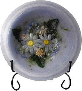 product image for Habersham - Lavender Chamomile 7 Inch Wax Pottery Bowl With Stand