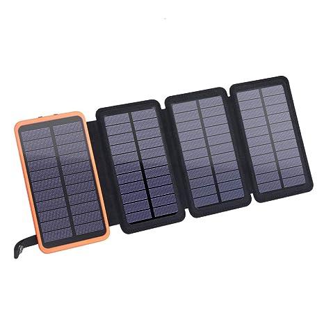 Mobestech Solar Power Bank Cargador solar portátil portátil ...