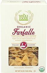 Whole Foods Market, Organic Farfalle, 16 oz