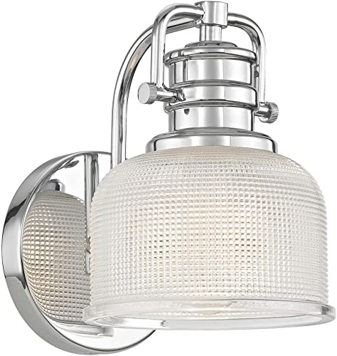 Design Classics Lighting Prismatic Glass Wall Sconce