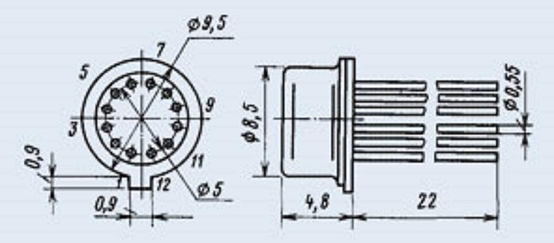 140UD1B = MA702 IC Microchip USSR  Lot of 2 pcs