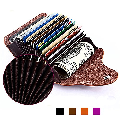 Credit Card Case, Genuine Leather Credit Card Holder ID Pocket Credit Card Cover Money Clip, Business Card Holder for Men and Women, perfect gifts, (Driving Licence Holder)